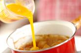 マグロ角煮の卵とじの作り方2