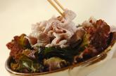 ゆで豚のネギソースサラダの作り方2