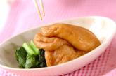 麩と青菜のサッと煮の作り方2