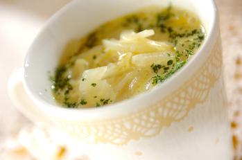玉ネギのカレースープ