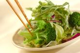 炒めベーコンと豆腐のサラダの作り方2