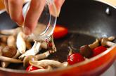 プチトマトとシメジのソテーの作り方2