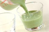 抹茶ミルクゼリーの作り方3