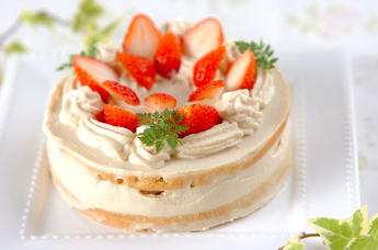 Veganデコレーションケーキ