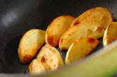 ゆで豚とジャガイモの中華炒めの作り方1