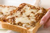 マヨ納豆トーストの作り方2