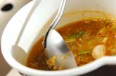 揚げ餅入りピリ辛みぞれ汁の作り方3