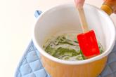 クリーム抹茶豆腐の作り方1