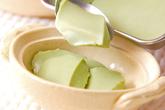 クリーム抹茶豆腐の作り方3