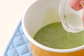 クリーム抹茶豆腐の作り方2