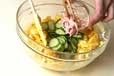 二色サラダの作り方3