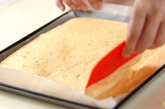 紅茶のロールケーキの作り方2