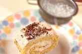 紅茶のロールケーキの作り方5