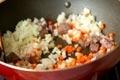 牛肉とキノコのオムライスの作り方4