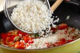 鶏と大豆のパエリアの作り方2