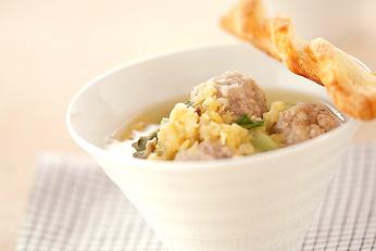 ポークボウルのスープ