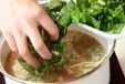 エノキとオクラのみそ汁の作り方2