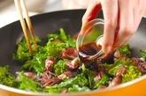 ホタルイカの甘辛炒めの作り方2