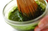 抹茶ココナッツドリンクの作り方1