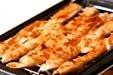 鶏ささ身ピーナッツ焼きの作り方1