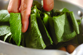 ちくわと青菜の煮物の作り方2