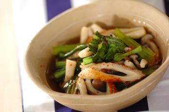 ちくわと青菜の煮物