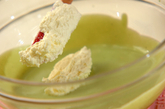 抹茶のレアチーズの作り方4