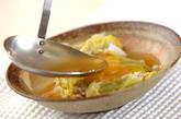あんかけ白菜と豚肉の重ね蒸しの作り方2
