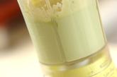 マグロとシメジのアボカド白和えの作り方2
