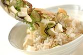 アジの冷やしスープご飯の作り方3
