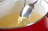 エビ団子汁の作り方1