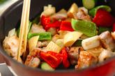 豚肉のカシューナッツ炒めの作り方2