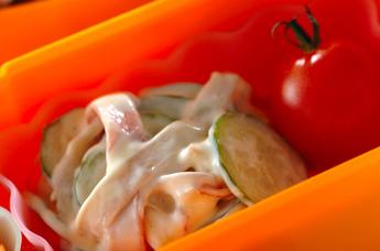 カニ風味カマボコサラダ