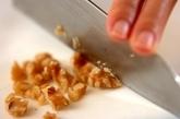 クルミ汁粉の下準備2