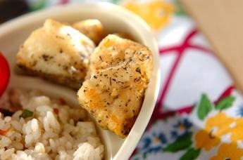 白身魚のゆかり天ぷら