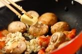 ガーリックシュリンプ丼の献立の作り方2