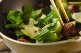 砂肝の中華炒めの作り方2