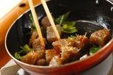 コンニャクの梅おかか和えの作り方4
