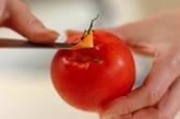 トマトと甘酒のスムージーの作り方1
