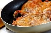 チキンのトマトソースの作り方2