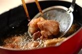 鶏唐揚げのケチャップ和えの作り方1