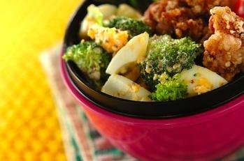 ブロッコリーの卵サラダ