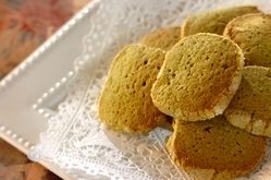米粉の抹茶クッキー