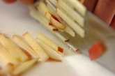 大根とリンゴのサラダの作り方2