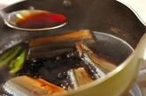 サンマの甘露煮の作り方2