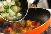 ジャガイモとグリンピースのカレーの作り方5