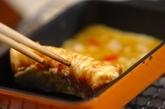 カニ玉風卵焼きの作り方3