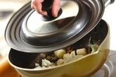 カリフラワーと鶏もも肉のピリ辛炒めの作り方3