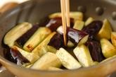 豚しゃぶと揚げナスの素麺の作り方1