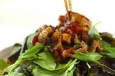カリカリ豚肉のサラダ仕立ての作り方3